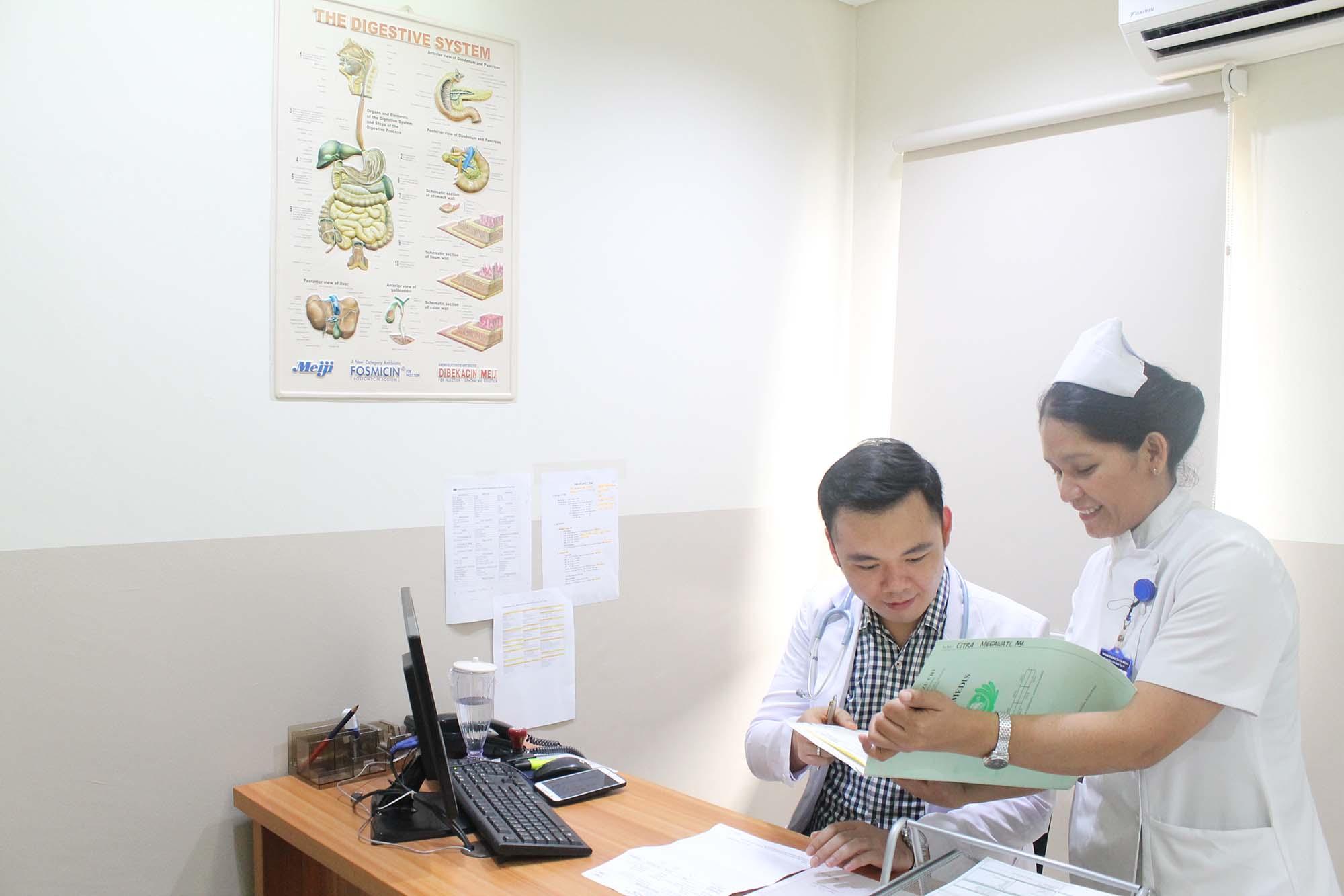 Poliklinik Penyakit Dalam RSCK Tzu Chi